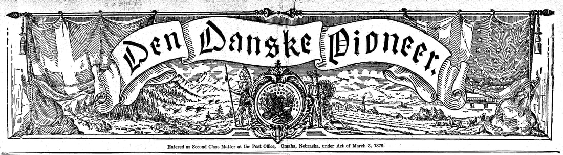 1942 masthead from the Danish-American newspaper